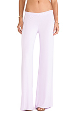 Derby Wide Leg Pant in Neo Violet