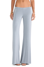 Derby Wide Leg Pant in Quarry