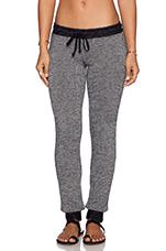 Chet Sweatpants in Grey & Black
