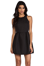 Embossed Girlie Dress in Black