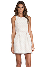 Lace Girlie Dress in Nude
