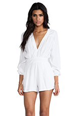 Jet Jumpsuit in White