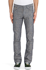 Skinny Guy Pineapple Selvedge Chambray 8 oz. in Blue