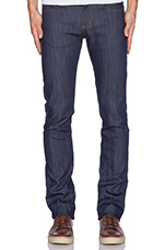 Skinny Guy 12oz Natural Indigo Power Stretch in True Indigo