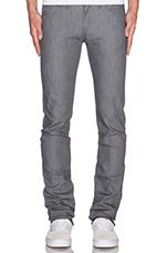 Skinny Guy in 12oz Grey Stretch