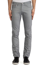 Skinny Guy Griffin Selvedge Chino 12 oz. in Griffin Grey