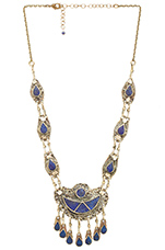 7 Seas Necklace in Lapis