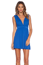 x Naven Twins No Way Fit & Flare Dress in Cobalt