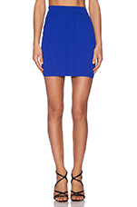 x Naven Twins Play It Again Skirt in Cobalt