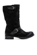 Biker Mid Rock Boot in Ebano