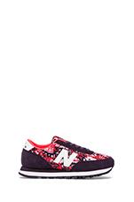 Camo Sneakers in Elderberry