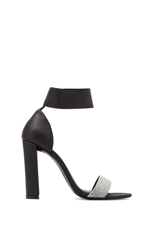 Hari Pump in Black/White Lizard