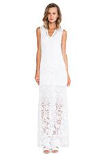 Bella Beach Gown in White