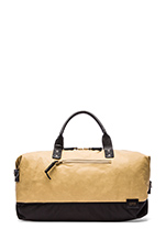 Holdem Duffle in Khaki/ Black