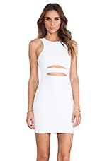 Top Gun Dress in White