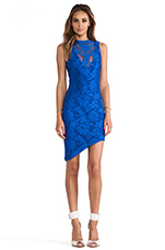 Renegades Lace Dress in Cobalt