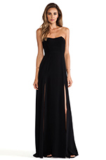 Encore Maxi Dress in Black