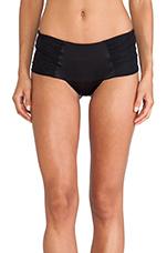 Ryan Silk Brazilian Panty in Black