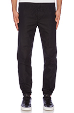 Marvin Crisp Cotton Pant in Black
