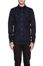 Jonis Shirt in Org Deep Broken Blue