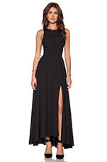Designer Siren Gown in Black