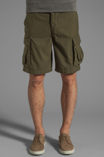 Recon Cargo Short in Army