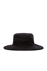 Sierra Hat in Heather Black