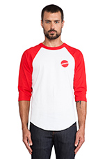 MH Toys Raglan Jersey in Red/White