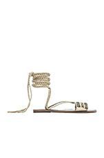 Sandal in Marfil