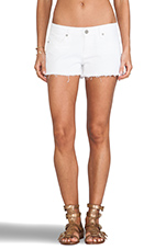 Catalina Short in Optic White