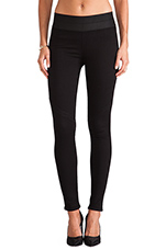 Glam Rock Legging in Black