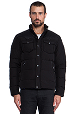 Stapleton Down Jacket in Black