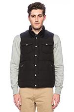 Stapleton Vest in Black