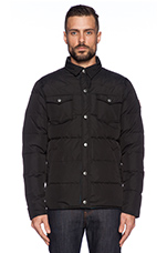 Rockford Insulated Jacket in Black
