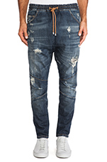 Jeans in Dark Blue
