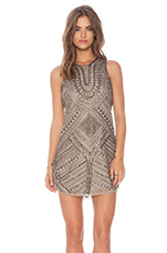 Allegra Dress in Taupe
