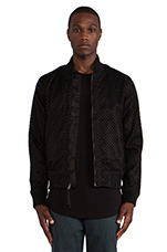Millo Bomber Jacket in Black