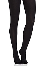 Full Foot Fleece Lined Leggings in Black