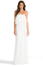 Abel Dress in White