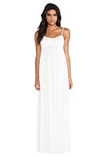 Crane Maxi Dress in White