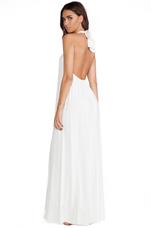 Shu Maxi Dress in White