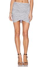 Rib Brooks Skirt in Prism Stripe