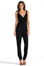 Stacey Jumpsuit in Black