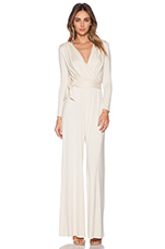 Tristan Jumpsuit in Cream