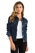The Jean Jacket in Medium Indigo