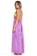Tie Dye Maxi Dress in Purple