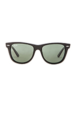 Outsider Oversized Wayfarer in Black