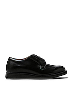 Postman Oxford in Black Chaparral