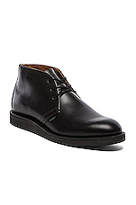 Postman Chukka in Black Chapparral