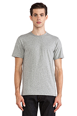 Perfect Jersey Tee in Grey Heather